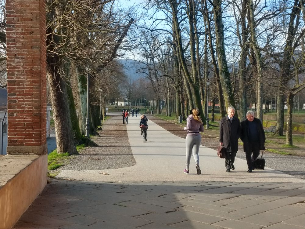 Achieving even more sustainable mobility in Lucca post-COVID