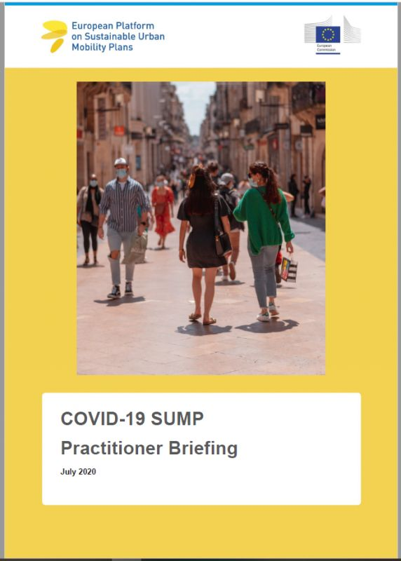 COVID-19 SUMP practitioners' briefing now available